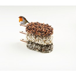 Desserts for Birds is available in Classic Black, Double Delicious, and Crunchy Crunchy flavors.