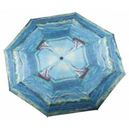 Vincent Van Gogh umbrella with a piece of the painting Seascape