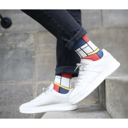 Turn your feet into a work of art with these Mondrian socks from Heroes on Socks.