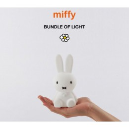 An ideal light for your little one to fall asleep with. On battery so also very easy for a stay or vacation. Super sweet!