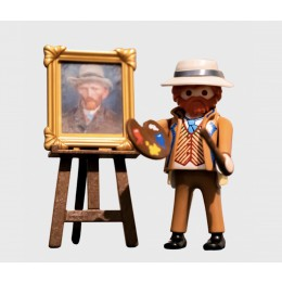 Special gift for kids - Playmobil figure Van Gogh at shop.holland.com