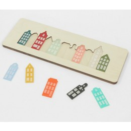 Cre8 Amsterdam canal house puzzle - great gift for kids