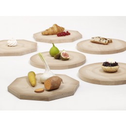 Shades of Plates woorden cheese board and plate in circle or octagon shape - Rijksmuseum Amsterdam