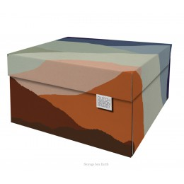 Storage-box Earth to organise your paperwork beautifully