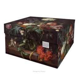 Dutch Design Storage Box Flowers at shop.holland.com