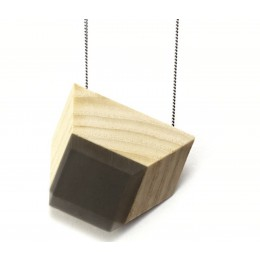 Vanishing Point Necklace ash and graphite grey from Turina Jewellery at shop.holland.com