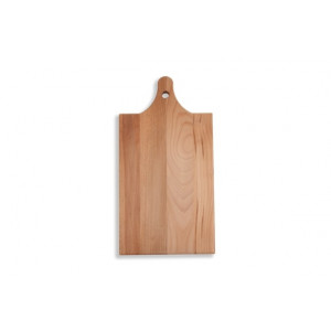 I amsterdam wooden serving tray with neck gable grip