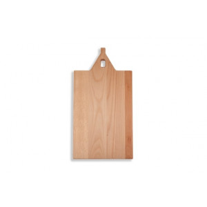 I amsterdam Wooden serving tray with straight spout gable grip