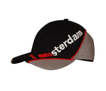 I amsterdam MX visor baseball cap