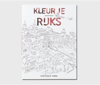 Kleurboek Kleur je eigen Van Gogh - kleurboek voor volwassenden bij shop.holland.com