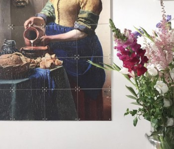 IXXI wanddecoratie Het Melkmeisje Small 120 x 100 cm