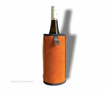 Kywie Wooler is een wijn koeler van schapenvacht in de kleur camel van het Dutch design merk Kywie en koop je bij shop.holland.com
