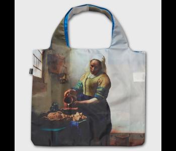 Loqi Tasche Dienstmagd mit Milchkrug von Vermeer Limited Edition
