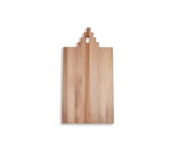 I amsterdam houten GRIP serveerplank met trapgevel