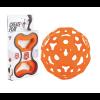 Foooty opvouwbare voetbal - Oranje