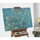 Van Gogh Amandelbloesem Canvas 29x37cm
