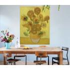 IXXI wanddecoratie Zonnebloemen Van Gogh - Small 80 x 100 cm