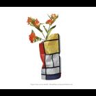 Paper Vase Cover Small - Mondriaan