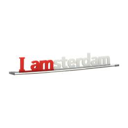I amsterdam letters 3D acryl miniatuur