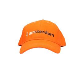 Baseball cap, oranje
