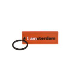 I amsterdam Rubber 2D keyhanger, oranje XXL