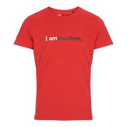 I amsterdam Men Classic T-shirt, rood