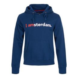 I amsterdam The Classic Hoodie, donkerblauw