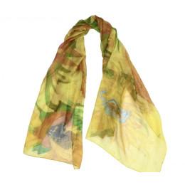 Vincent van Gogh zijden sjaals Zonnebloemen