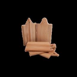 Alle houten serveerplanken met gevels van I amsterdam