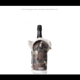 Kywie Wooler Champagne koele rin camouflage print