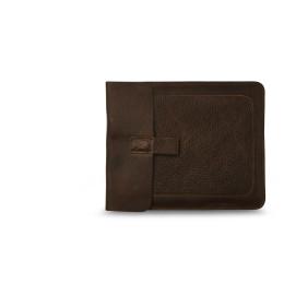 Tablet of iPad hoes vam Keecie in donker bruin leer