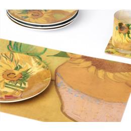 Placemats Van Gogh Zonnebloemen koop je bij shop.holland.com - cadeautip