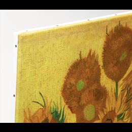 Van Gogh Zonnebloemen op Canvas 29x37cm vind je bij shop.holland.com - de webshop voor Dutch Design cadeaus en souvenirs