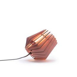 Deze bijzondere Mini-spot tafellamp in Aged Pink van Van Tjalle en Jasper wordt geleverd als bouwpakket met alle benodigde onderdelen voor de lamp.