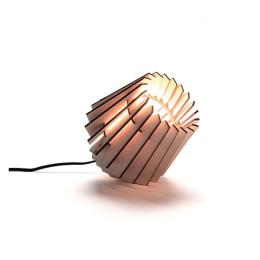 Houten tafellamp Mini-spot naturel van Tjalle en Jasper
