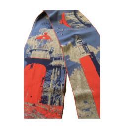 Winter shawl Van Gogh -bijzonder cadeau voor hem