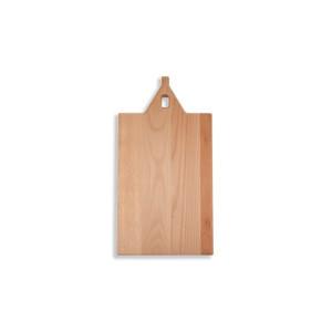 I amsterdam houten GRIP serveerplank met rechte tuitgevel
