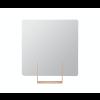 Spiegel Look vierkant roodbruin van het Nederlandse merk Ignore