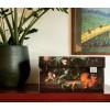 Opberg box Flowers wereldkaart van Dutch Design brand bij shop.holland.com