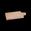 I amsterdam houten GRIP serveerplank met klokgevel van opzij