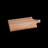 I amsterdam houten GRIP serveerplank met halsgevel van opzij