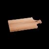 I amsterdam houten GRIP serveerplank met tuitgevel van opzij