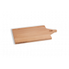 I amsterdam houten GRIP serveerplank met rechte tuitgevel van opzij