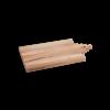 I amsterdam houten GRIP serveerplank met trapgevel  van opzij