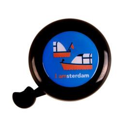 Amsterdamer State of Mind Fahrradklingel - Ausflugsboot
