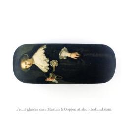 Vorderseite des Brillenetui Marten & Oopjen, Porträt von Rembrandt van Rijn