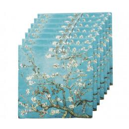 Van Gogh Servietten Mandelblüte 20 Stück bestellen Sie auf amstory.nl