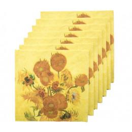 Servietten Sonnenblumen von Van Gogh kaufen Sie online auf amstory.nl
