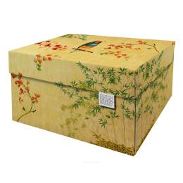 Dutch Design Aufbewahrungsbox Japanische Blüte 40x31x21cm kaufen Sie bei shop.holland.com