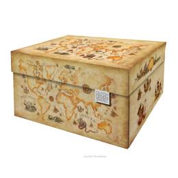 Aufbewahrungsbox Alte Weltkarte von der Marke Dutch Design Brand unter shop.holland.com